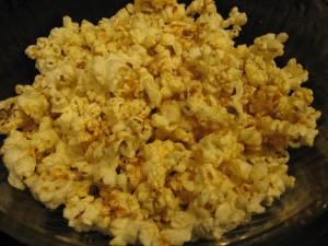 Cheesy BBQ Popcorn