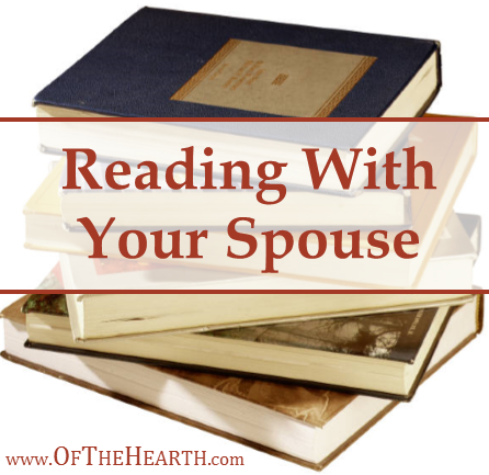 Reading and intentionally discussing what we've read has been one of the most simple, yet beneficial aspects of my relationship with my husband.