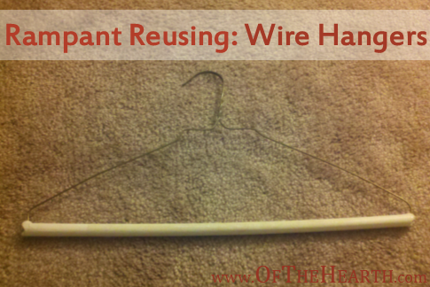 Ways to Reuse Wire Hangers | Do you have wire hangers around your home that take up space without providing benefit? Try these useful, fun, or creative ideas for reusing the hangers.