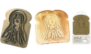 Holy Toast Stamp