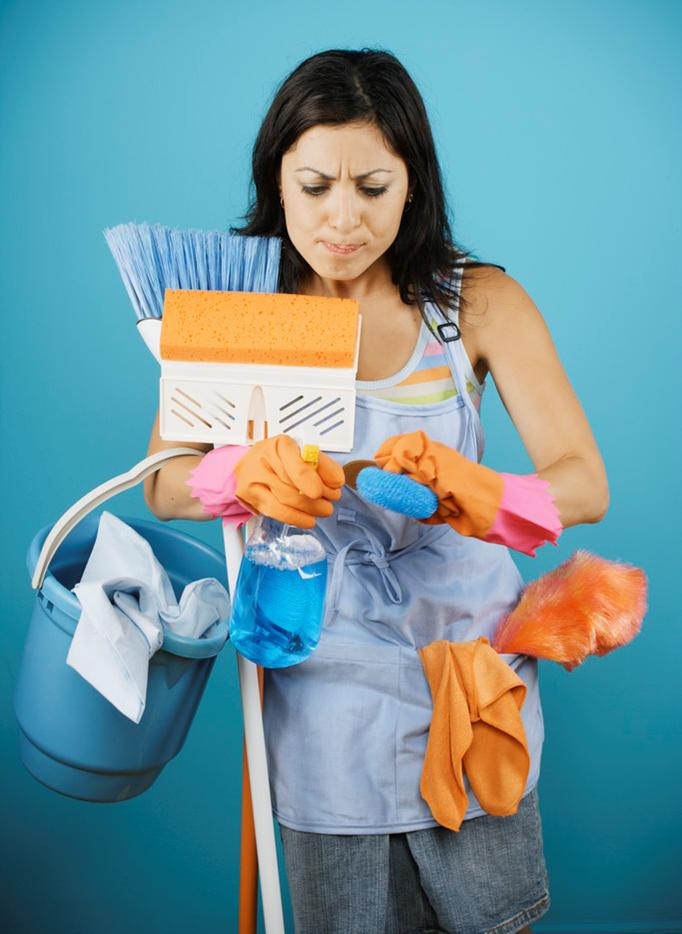 Making Unpleasant Housecleaning Tasks More Enjoyable