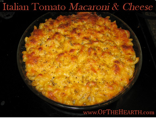 My attempt to make a new dish led to Italian Tomato Macaroni and Cheese. This easy-to-prepare recipe makes a delicious and hearty meal that is very affordable.