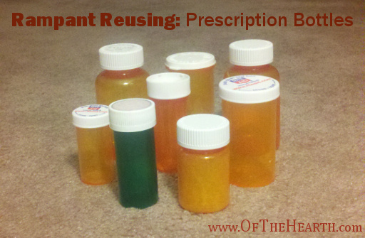 Rampant Reusing: Prescription Bottles