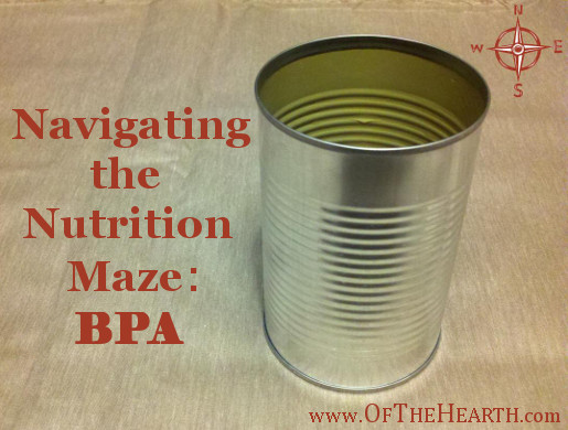 Navigating the Nutrition Maze: BPA