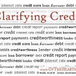 Clarifying Credit (Part 1)