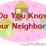 Do You Know Your Neighbors?