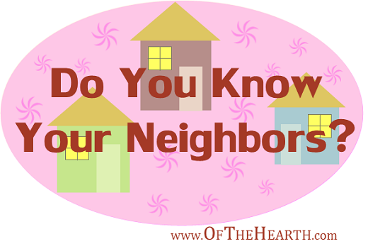 Do You Know Your Neighbors?