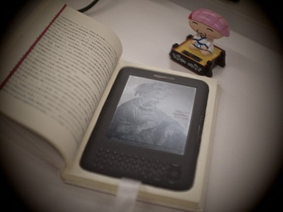 Book e-reader cover