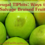 Frugal TIPbits: Ways to Salvage Bruised Fruit