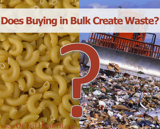 Buying in bulk can save money, but it can also create waste. Take a look at 3 types of waste that can result from bulk purchases and find out how to avoid them.
