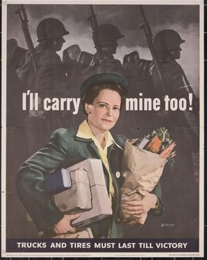I'll carry mine