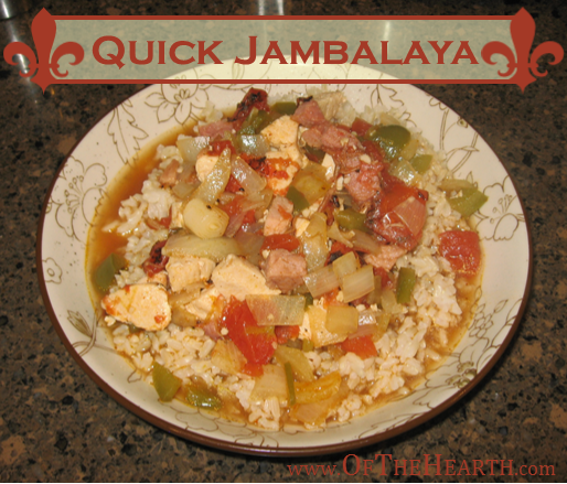 Quick Jambalaya | This versatile jambalaya is flavorful and easy to ...