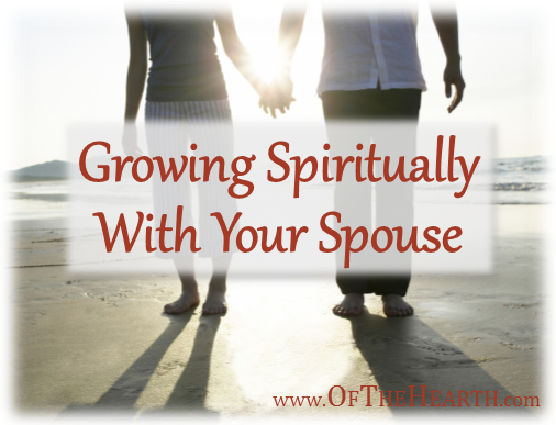 Many couples don't feel as spiritually close as they'd like to. It takes intentional effort to grow together. These 8 strategies are a great place to start!