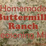 Homemade Buttermilk Ranch Seasoning Mix