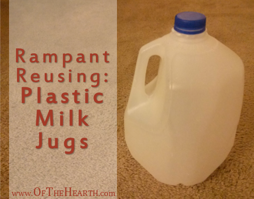 Ways to Reuse Plastic Milk Jugs