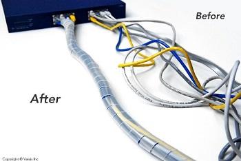 Spiral cord wrap