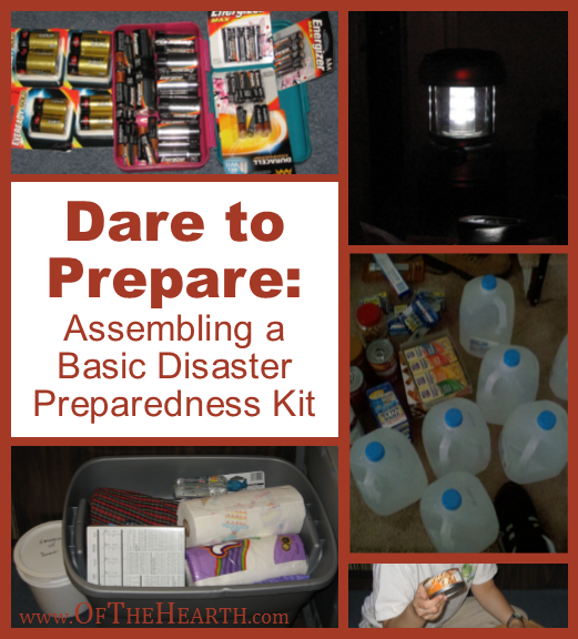 Assembling a Basic Disaster Preparedness Kit | Once a disaster is imminent or in progress, it's too late to acquire preparedness supplies. Here's how to assemble a basic disaster preparedness kit before disaster strikes.