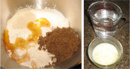 Butterhorn ingredients