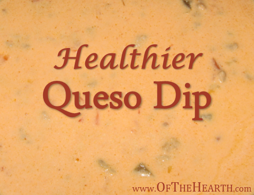 Healthier Queso Dip | Ditch the fake cheese, but keep the queso dip! Try this cheesy, spicy queso dip that's made from scratch.