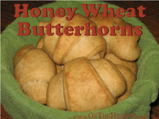 Honey Wheat Butterhorns | At just $0.11 per roll, honey wheat butterhorns make a delicious breakfast or a perfect accompaniment for dinner. Their slightly sweet flavor is irresistible!
