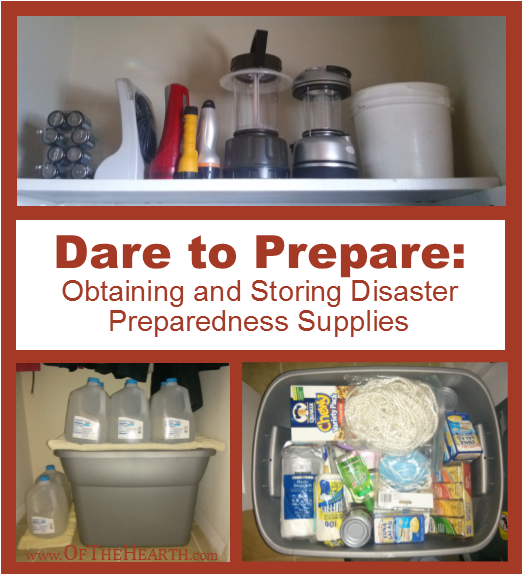 Obtaining and Storing Disaster Preparedness Supplies | How can I afford disaster preparedness supplies? How can I get prescription medications for my kit? Where can I store the supplies? Find answers here.