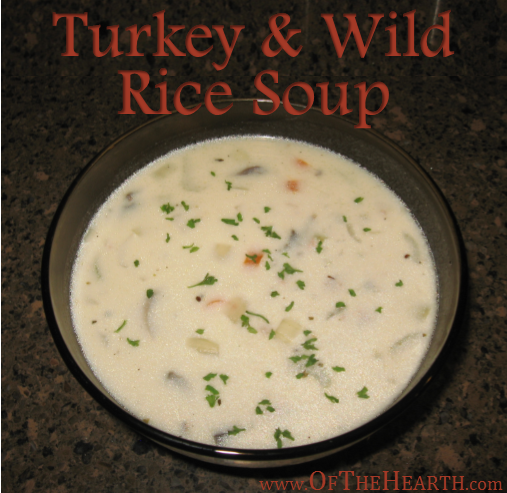 Turkey and Wild Rice Soup | Looking for a warm, comforting meal? Try smooth, creamy Turkey and Wild Rice Soup.