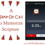 A Wake-Up Call to Memorize Scripture