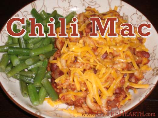 Chili Mac | Chili mac is awesome. Why? It's easy to prepare, budget friendly, tasty, and nutritious. It's a meal the whole family will enjoy!