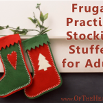 Frugal, Practical Stocking Stuffers for Adults