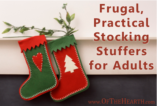 Not sure what to stuff in stockings this Christmas? Here's a list of unique, budget-friendly stocking stuffers for adults.