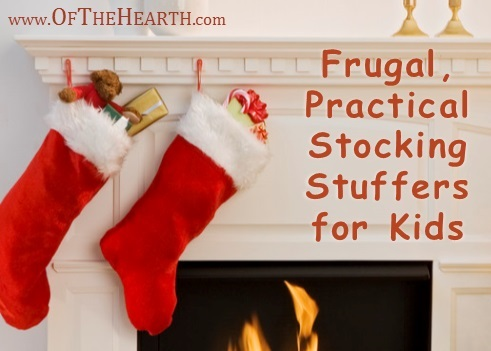 Frugal, Practical Stocking Stuffers for Kids