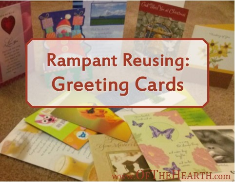 Do you need a postcard, wreath, or banner? These items and many more can be created out of used greeting cards. Check out these awesome options!