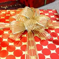 fancy fabric bow