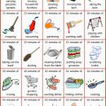 25 Homemaking Tasks That Burn 100 Calories
