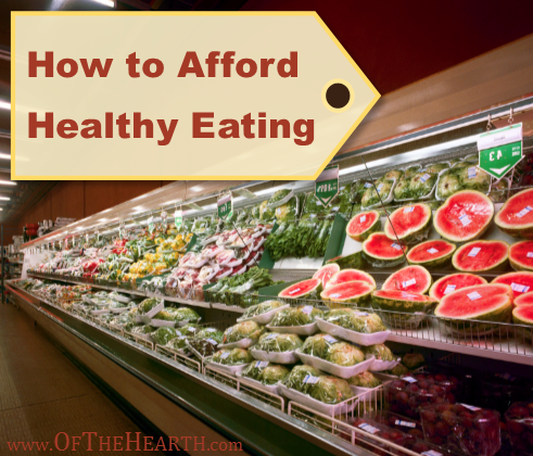 You can eat healthily and stay within budget. Here are 11 practical strategies that make this possible.