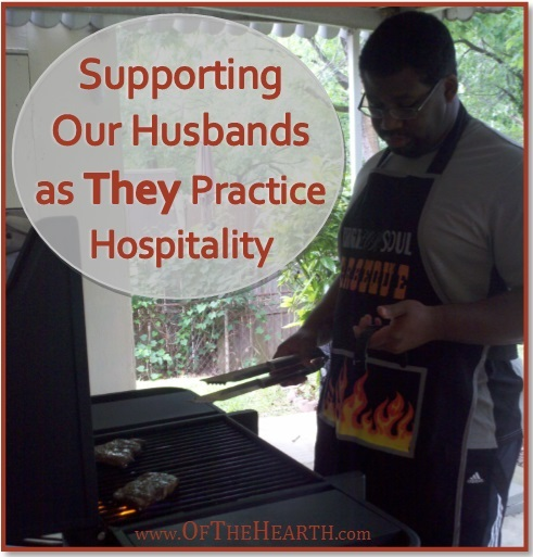 Whether your husband is enthusiastic or reserved about hospitality, there are things you can do to build his confidence and interest in having guests over.
