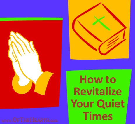 Do you ever feel like your devotional time is redundant or unexciting? Here are some strategies I use to jump-start my quiet times when I feel this way.