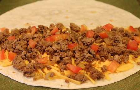 Filling for Cheeseburger Quesadillas | Cheeseburger quesadillas feature the classic taste of cheeseburgers in an easy-to-prepare quesadilla. Try this convenient, family-friendly dish tonight!
