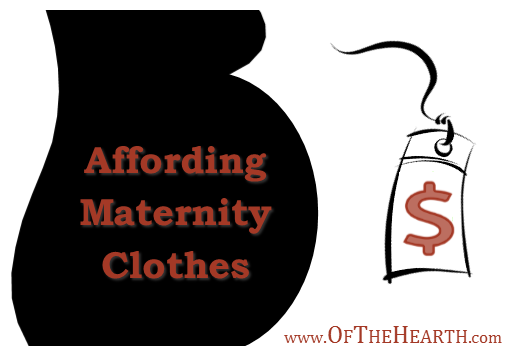 Maternity clothes can be costly and you can only wear them for a short time. Here are some simple strategies to help you afford maternity clothes.