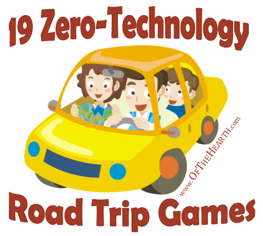 19 Zero-Technology Road Trip Games