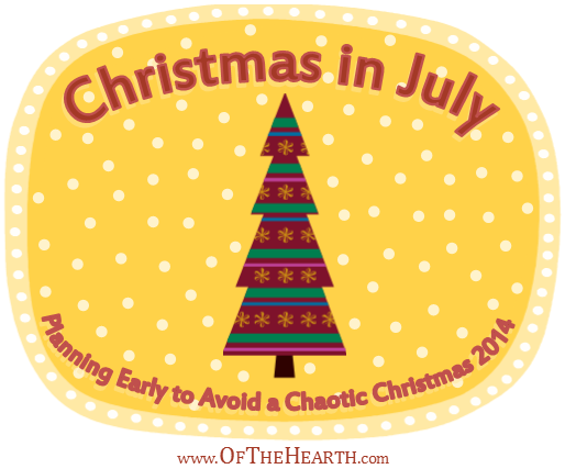 Christmas in July 2014 | Christmas is stressful for many people. Fortunately, with a little planning, we can enjoy traditions without losing focus on the real reason we celebrate.