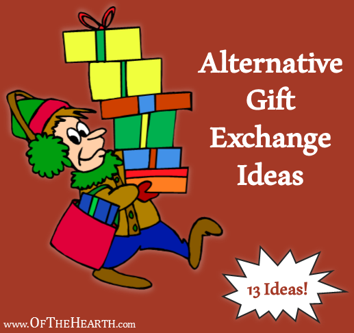 Alternative gift exchange ideas negle