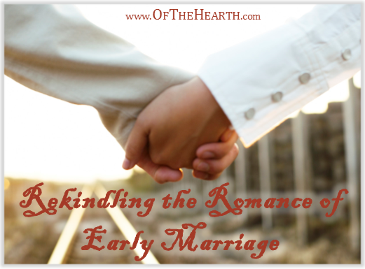 As time passes, it becomes difficult to go the extra mile to do special things for your spouse. What strategies can rekindle the romance of early marriage?