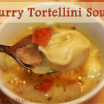 Curry Tortellini Soup
