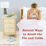 Natural Ways to Avoid the Flu and Colds