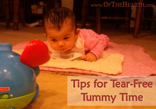 Tips for Tear-Free Tummy Time