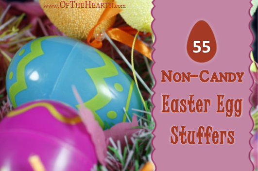 Add variety to your Easter egg hunts by using non-candy Easter egg fillers. Check out these 55 fun ideas!