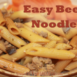 Easy Beefy Noodles