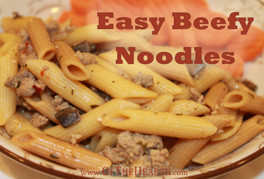 Easy Beefy Noodles recipe | Easy Beefy Noodles is a one-pot dish that can be prepared easily and quickly. As a bonus, it's full of flavor and affordable to make.