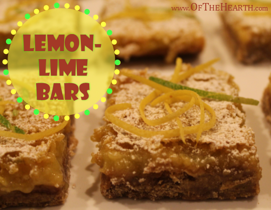 Lemon-Lime Bars recipe | The rich flavor of Lemon-Lime Bars makes them a tasty option for your next get together. Try these easy-to-prepare, lovely bars soon!